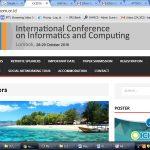 Lombok Jadi Tuan Rumah Seminar Internasional Ilmu Komputer Oktober 2016
