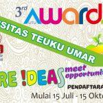 Pendaftaran Pembukaan 3rd UTU Awards Berhadiah 229,5 Juta